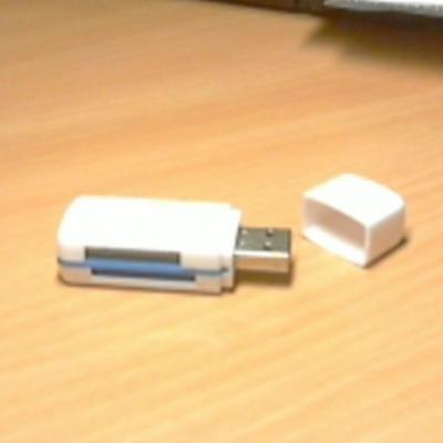 USB-Card Reader - Kartenlesegerät USB - thumb