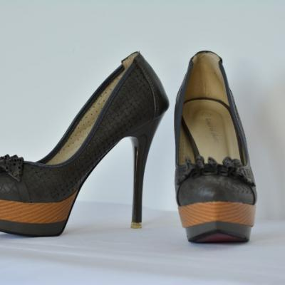 Ball Schuhe / High Heels Gr.40 - thumb