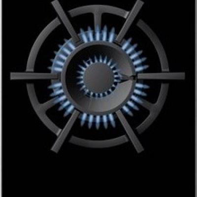 Gas Kochstelle Einbau WOK Siemens-Gebraucht - thumb