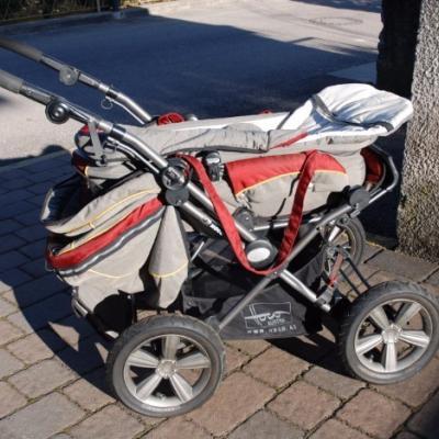 Kinderwagen in gutem Zustand zu verkaufen - thumb