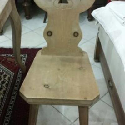 Antiker alter Bauerstuhl aus Meisterhand 350 euro - thumb