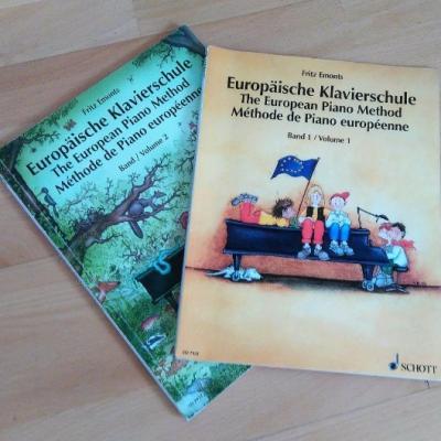 Europäische Klavierschule Band 1&2 - thumb