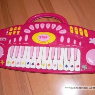 Barbiegitarre und Keyboard Bontempi - thumb