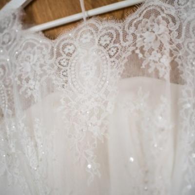 Verträumtes leichtes Brautkleid - thumb