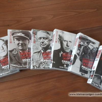 6 VHS Videocassetten Zweiter Weltkrieg - thumb