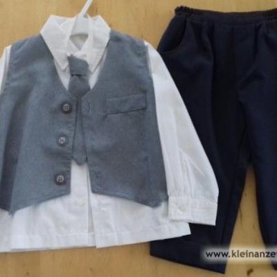 Anzug für kleinen Jungen 86/92 cm - thumb