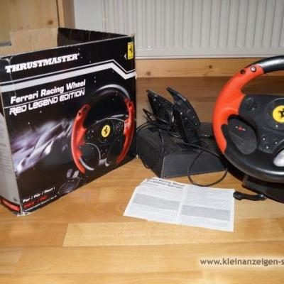 Thrustmaster Ferrari racing wheel - thumb