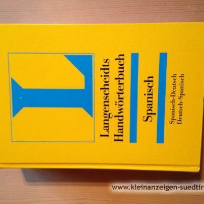 Langenscheidt Handwörterbuch Spanisch - thumb