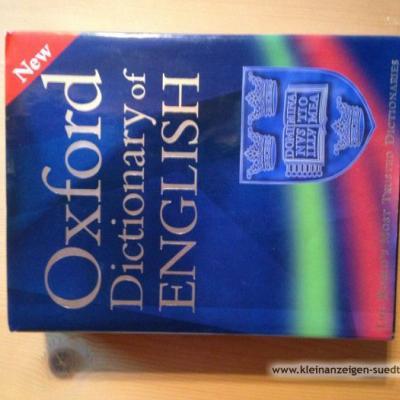 Wörterbuch English Oxford Dictionary of English - thumb