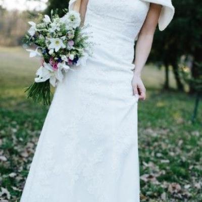 Wunderschönes Hochzeitskleid Gr.34 - thumb