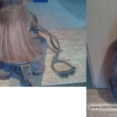 Verkaufe alten Sattel mit Kummet - thumb