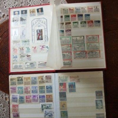 Briefmarkensammlung - thumb