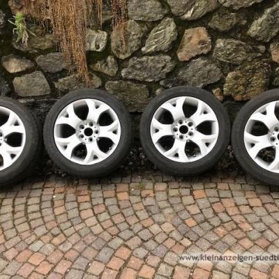 Dunlop Sommerreifen mit Felgen für BMW X3 - thumb