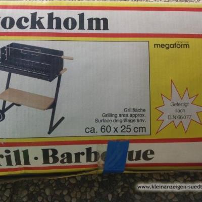 Unbenutzter, Neuer Holzkohlegrill zu verkaufen - thumb