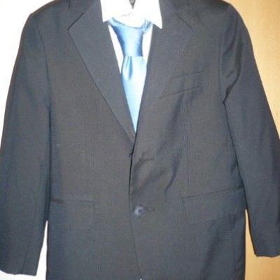 Erstkommunion Anzug dunkelblau - thumb