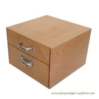 Holz-Karteikasten DIN A4 oder größer - thumb
