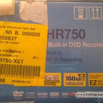 DVD HDD Recorder Samsung - thumb