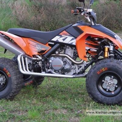 Verkaufe Quad KTM 525XC ATV in Top Zustand - thumb