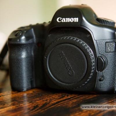 Canon 5D digitale Spiegelreflexkamera Vollformat - thumb
