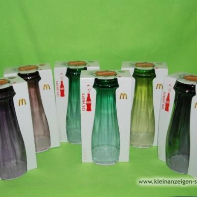 Coca-Cola Glässer von MC Donalds - thumb