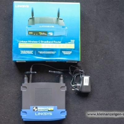 Wireless Router Linksys WRT54GL, 2.4 GHz - thumb