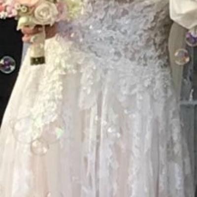 Verkaufe wunderschönes Hochzeitskleid - thumb