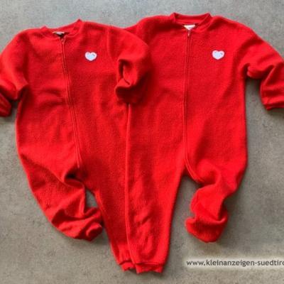 Pyjama / pigiama Einteiler Winter Gr. 98 cm - thumb