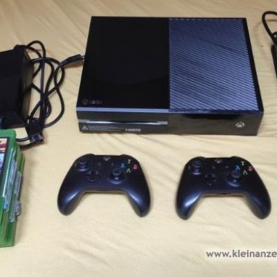 Xbox One mit 2 Schaltern und 7 Spielen 190€ - thumb