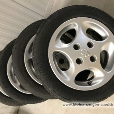 14 Zoll Peugeot Alu-/Leichtmetallfelgen - thumb