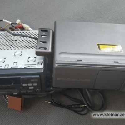 Verkaufe Panasonic-Autoradio mit 6fach-CD-Wechsler - thumb