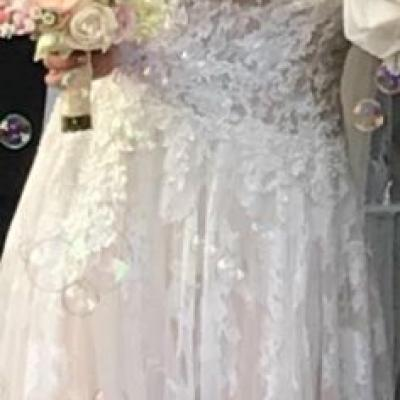 wunderschönes Brautkleid zu verkaufen - thumb
