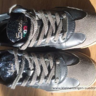 Serafini italienische Leder Sneaker - thumb
