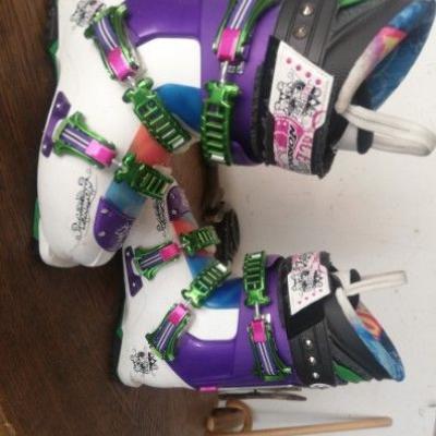 Freestyle-Ski + Schuhe - thumb
