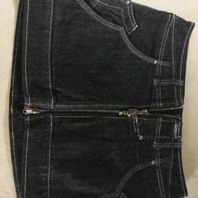 Jeans Minirock stefanel 40 - thumb