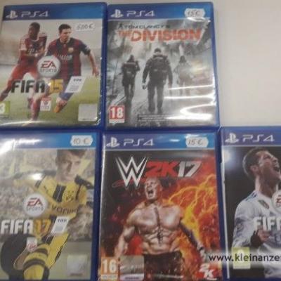 Verschiedene PS 4 Spiele - thumb