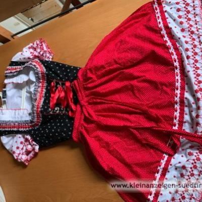 Rose Dirndl mit Bluse - thumb