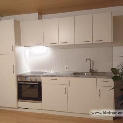 Neue Küchenzeile mit Tisch und Eckbank - thumb