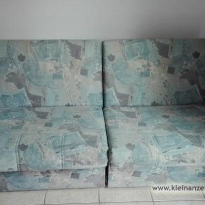gut erhaltenes Sofa mit Bettfunktion - thumb
