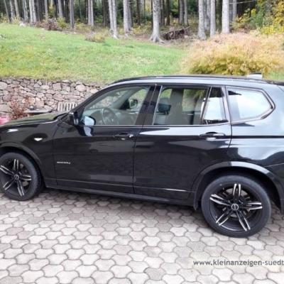 Verkaufe BMW x3 schwarz - thumb