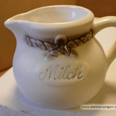 Milchkanne aus Qualitätskeramik Jopeko NEU - thumb