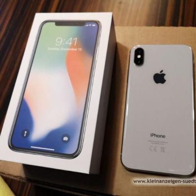iPhone X 256 GB Silver - thumb