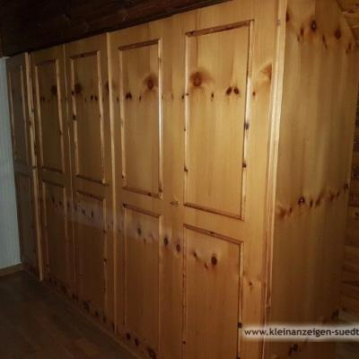 Massivholzschrank für Dachschräge - thumb