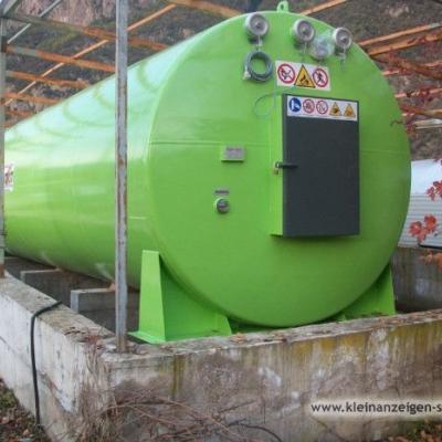 Pelletstank 25 m³ - thumb