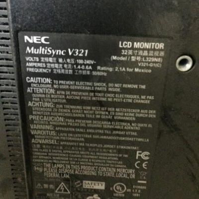Monitor 32 Zoll + Videokamera - thumb