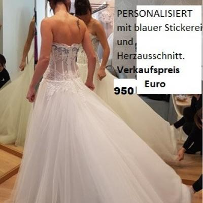 Brautkleid Atelier Emé Sposa Gr. S zu verkaufen - thumb