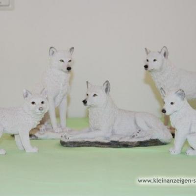 Wölfe/Wolfsfamilie im Set - thumb