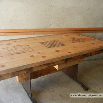 Holz Spieltisch (Handgemacht) - thumb