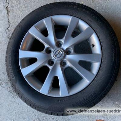 Mazda Alufelgen mit neuen Pirelli Sommerreifen - thumb