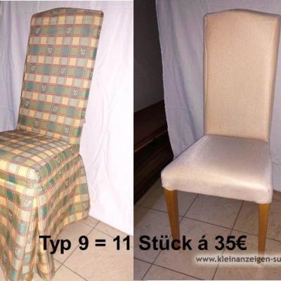 Verschiedene Stühle und Sessel zu verkaufen - thumb