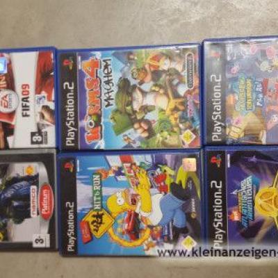 Spiele für Playstation 2 - thumb